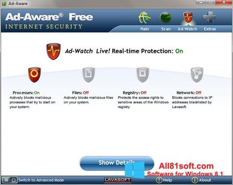 截图 Ad-Aware Windows 8.1