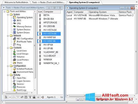 截图 Remote Administration Tool Windows 8.1