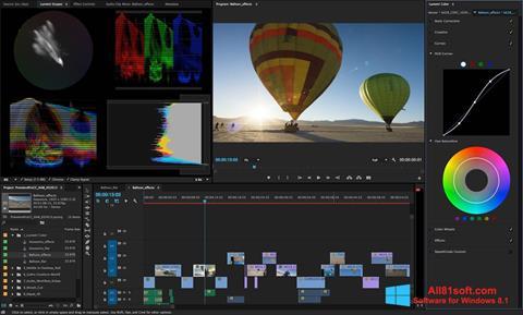 截图 Adobe Premiere Pro Windows 8.1