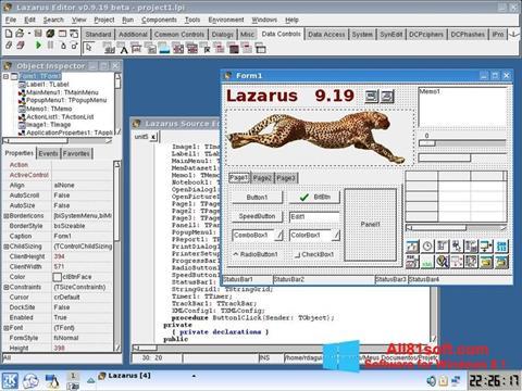 截图 Lazarus Windows 8.1
