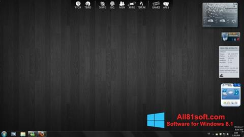 截图 RocketDock Windows 8.1