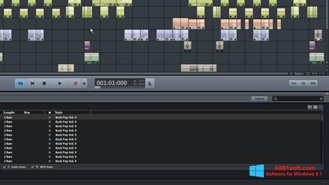 截图 MAGIX Music Maker Windows 8.1