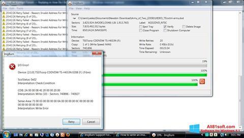 截图 ImgBurn Windows 8.1