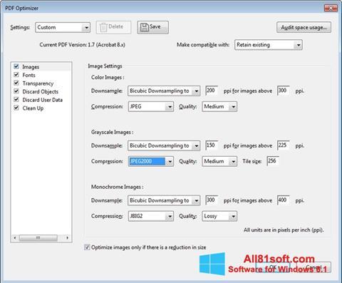 截图 Adobe Acrobat Pro DC Windows 8.1