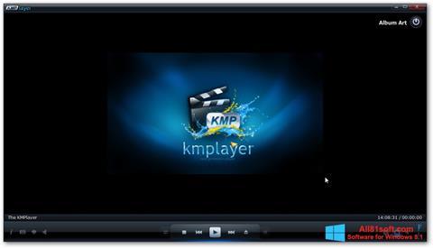截图 KMPlayer Windows 8.1