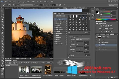 截图 Adobe Photoshop Windows 8.1
