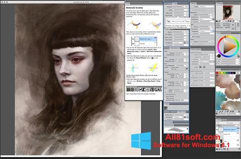截图 Corel Painter Windows 8.1