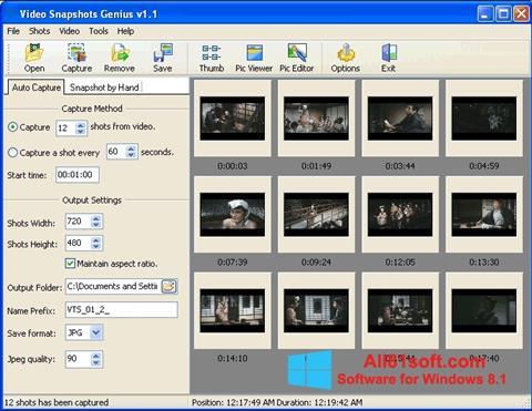 截图 SnapShot Windows 8.1