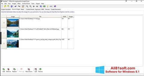 截图 PTGui Windows 8.1