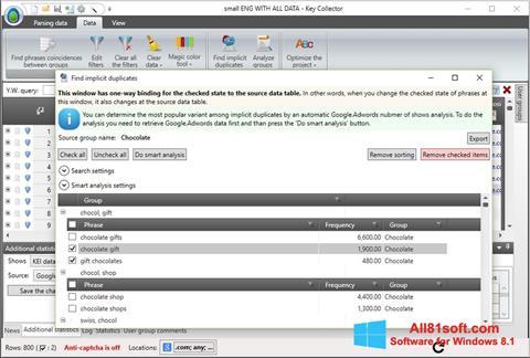 截图 Key Collector Windows 8.1