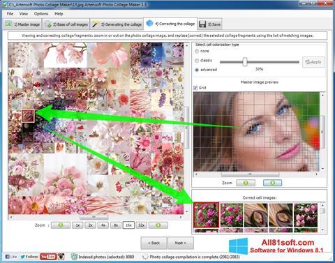 截图 Photo Collage Maker Windows 8.1
