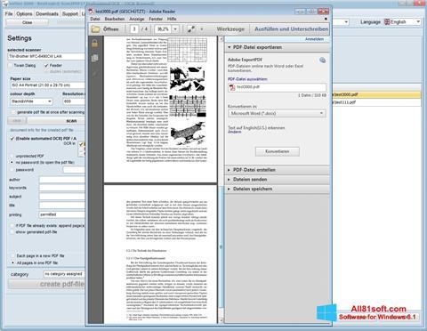 截图 Scan2PDF Windows 8.1