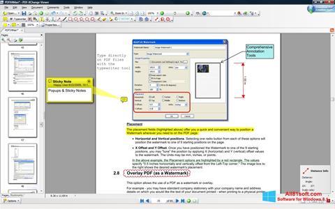 截图 PDF-XChange Editor Windows 8.1
