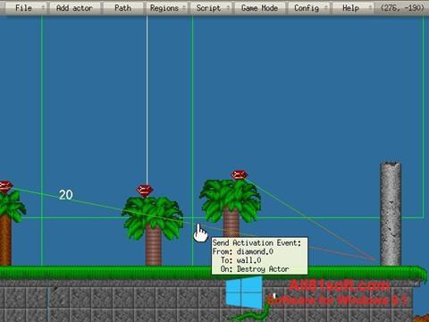 截图 Game Editor Windows 8.1