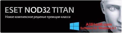截图 ESET NOD32 Titan Windows 8.1