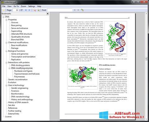 截图 Sumatra PDF Windows 8.1