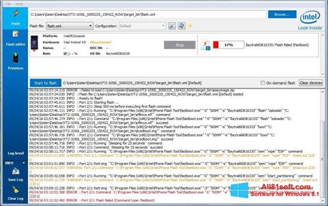 截图 FlashBoot Windows 8.1