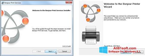 截图 Bonjour Windows 8.1