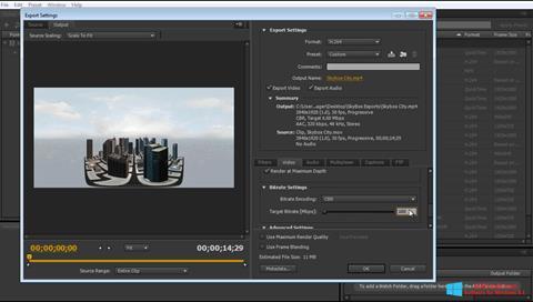 截图 Adobe Media Encoder Windows 8.1