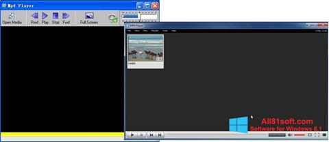 截图 MP4 Player Windows 8.1