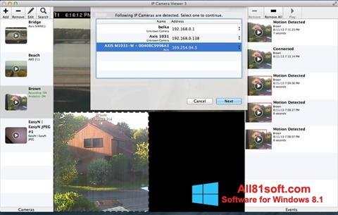 截图 IP Camera Viewer Windows 8.1