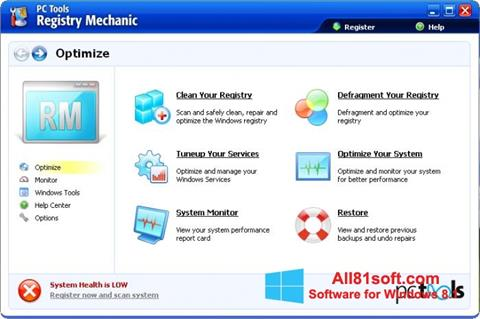 截图 Registry Mechanic Windows 8.1