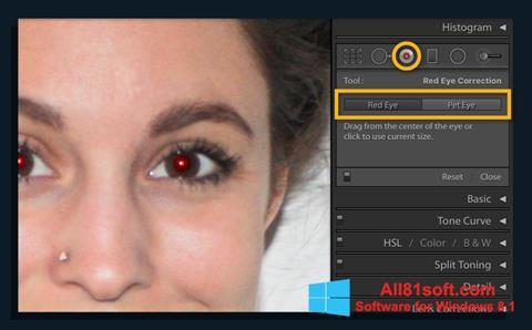 截图 Red Eye Remover Windows 8.1