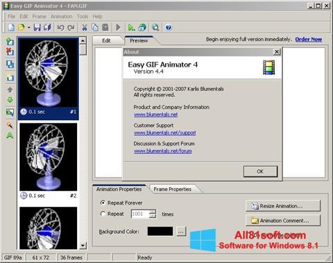 截图 Easy GIF Animator Windows 8.1