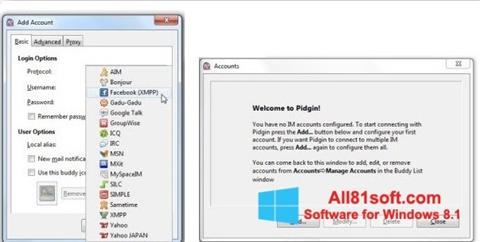 截图 Pidgin Windows 8.1