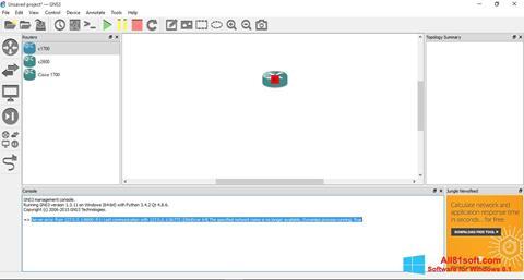 截图 GNS3 Windows 8.1