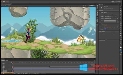 截图 Adobe Flash Professional Windows 8.1