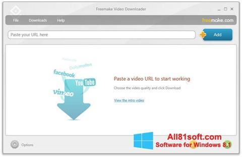 截图 Freemake Video Downloader Windows 8.1