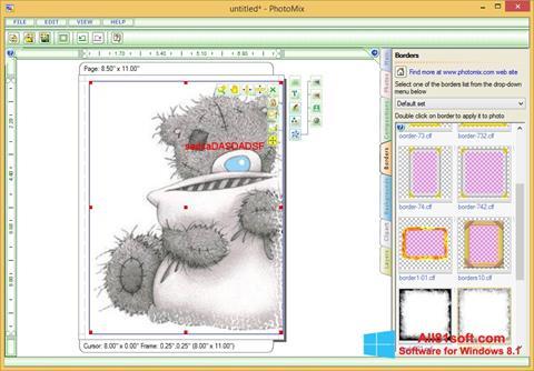 截图 PhotoMix Collage Windows 8.1